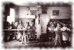 Õppeklass 1933. aastal