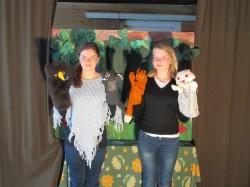 Näitlejad Emma ja Kathrin