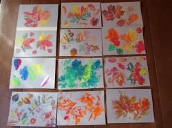 värvitud lehed