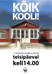 200901koolialguse plakat
